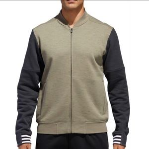 NEW Adidas Post Game Mossy Green Zip Up Jacket (M)